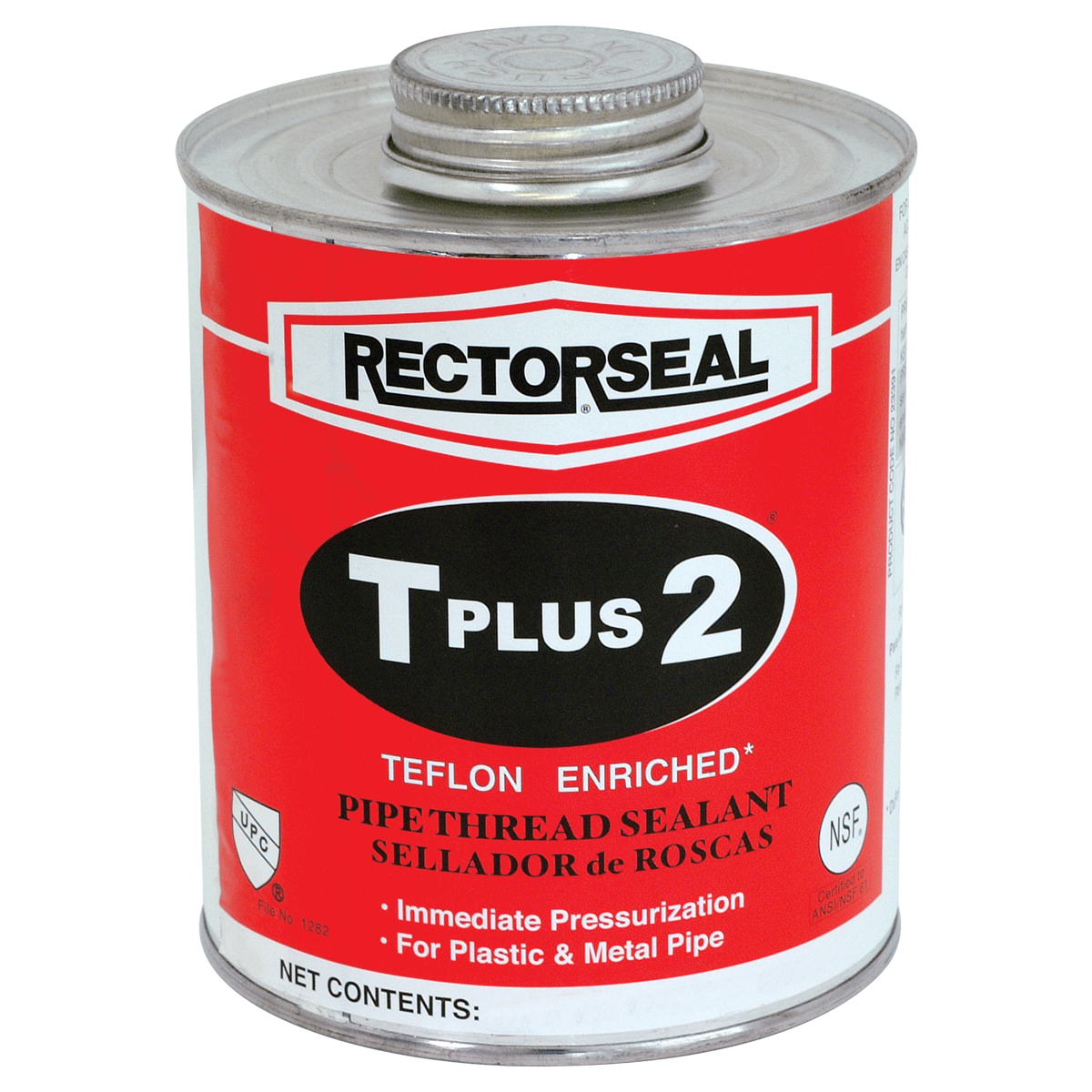 T Plus 2® Telfon Enriched Thread Sealant - 1/4 Pint