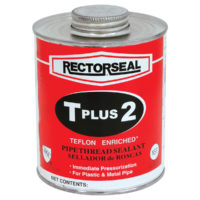 T Plus 2® Telfon Enriched Thread Sealant - 1/2 Pint