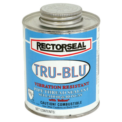 Tru-Blu™ Pipe Thread Sealant with Teflon - Pint