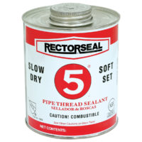 No. 5® Pipe Thread Sealant - 1/2 Pint