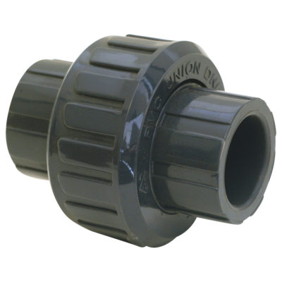 """1"""" Union (Solvent) - PVC"""