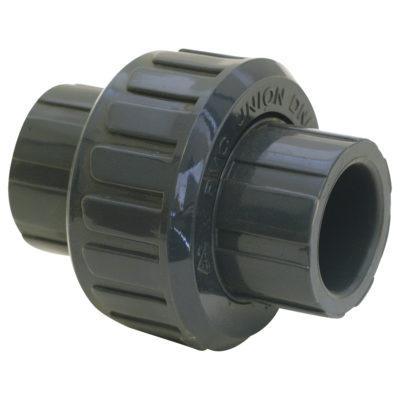 """1-1/4"""" Union (Solvent) - PVC"""