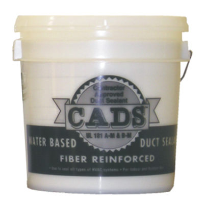 Fiber Reinforced Water Based Sealant - CADS Duct Sealant - 2 Gal