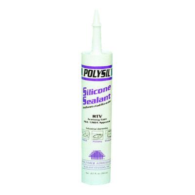 100% RTV Silicone Sealant - White