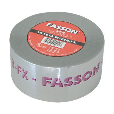 """2.5"""" x 60 Yards Foil Tape UL 181A-P/B-FX"""