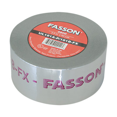 "3"" x 60 Yards Foil Tape UL 181A-P/B-FX"