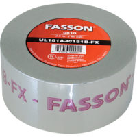 "2.5"" x 60 Yards Foil Tape UL 181A-P/B-FX"