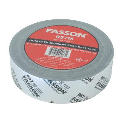 Cloth Duct Tape UL 181B-FX - Metalized