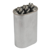 Dual Run Capacitors - Oval (370 VAC)