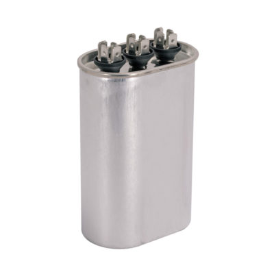 Dual Run Capacitors - Oval (440 VAC)