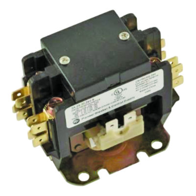2-Pole Definite Purpose Contactor - 30 Amp 24 Volts