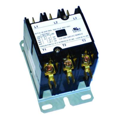 3-Pole Definite Purpose Contactor - 30 Amp 24 Volts