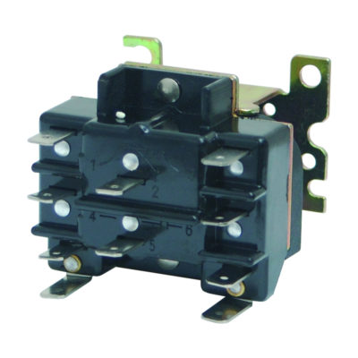 2-Pole Switching Relay (24 Volts)