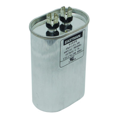 7.5 Motor Run Capacitor - Oval (440 VAC)