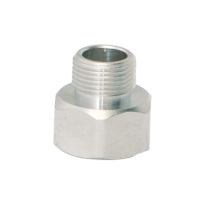"1/2"" x 3/8"" Female Compression x Male Compression Adapter"