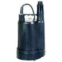Zoeller Submersible Utility Pump - 1/6 HP