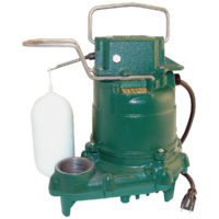 Zoeller Automatic Sump Pump - 3/10 HP