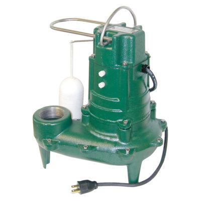 Zoeller Automatic Sewage Pump - 1/2 HP