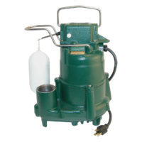Zoeller Automatic Sump Pump - 1/2 HP
