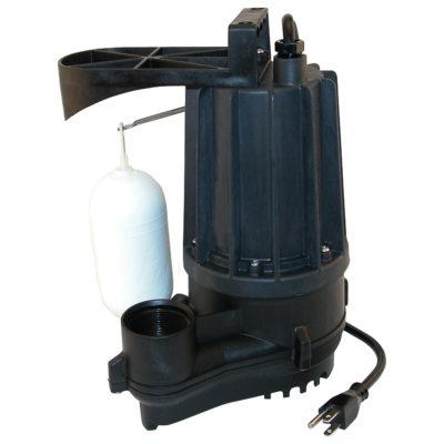 Zoeller Automatic Plastic Sump Pump - 3/10 HP