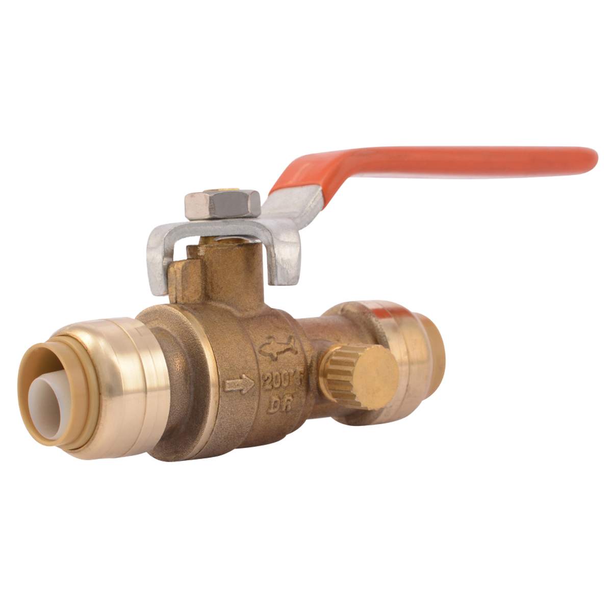 "1/2"" Ball Valve With Drain"