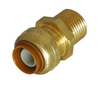 Sharkbite Brass Male Adapter - 1 in. x 3/4 in. MIP