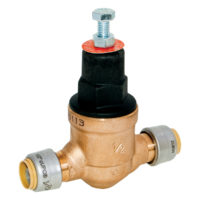 "3/4"" Push Fit Pressure Reducing and Regulating Valve"