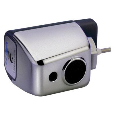 E-Z flush Sensor-Operated, Battery Powered Chrome Retrofit Kits - Plastic