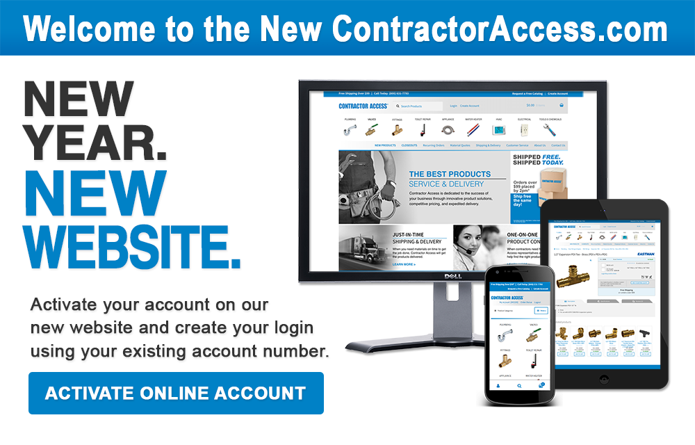 Welcome to the New ContractorAccess.com